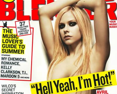 avril lavigne blender. blenderavril1 Avril Lavigne