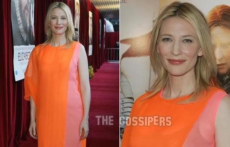 cateconeferma Cate Blanchett conferma la gravidanza