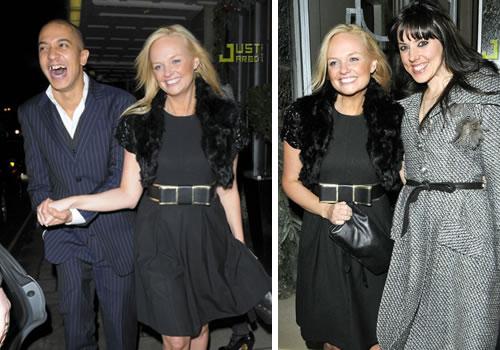 nyespice2 Le Spice Girls unite per il Capodanno