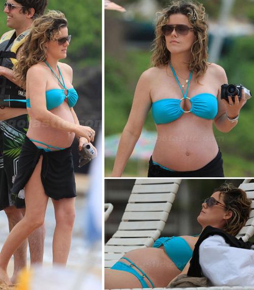 Kathleen robertson in a bikini