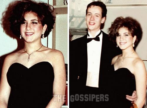 milleannifajen Jennifer Aniston al ballo della scuola