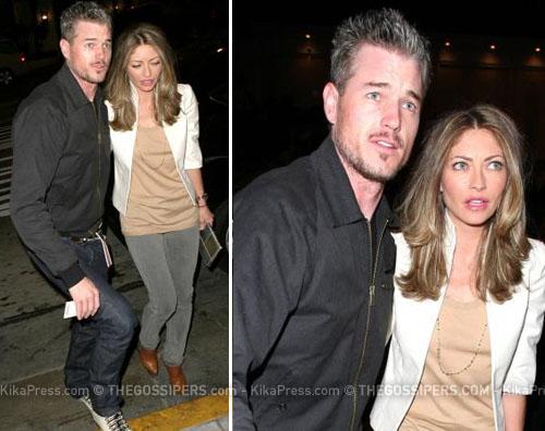 danemoglie Eric Dane passeggia con la moglie