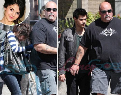 taylor selena Taylor Lautner pranza con Selena Gomez