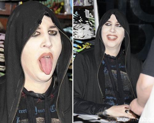 mariilyyn grasso Marylin Manson è ingrassato!
