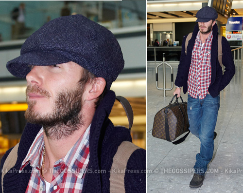 beckhamaero David Beckham vola a Los Angeles