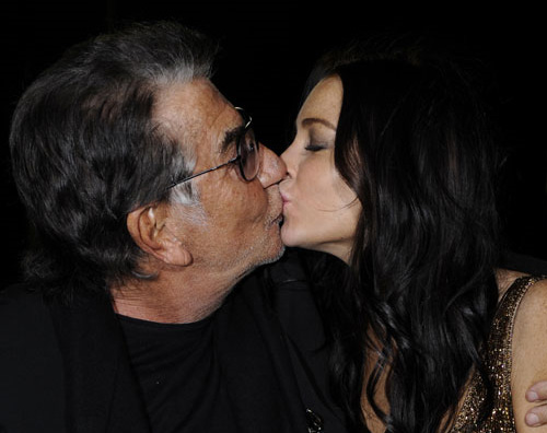 buy online a8b8a 70bf6 Lindsay Lohan a Milano per Roberto Cavalli | Gossip