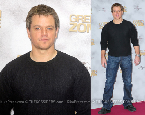 matt damon green Matt Damon presenta Green zone