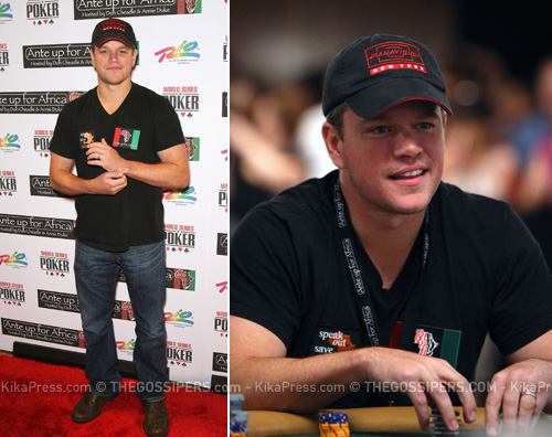matt damon poker Matt Damon giocatore dazzardo per beneficienza