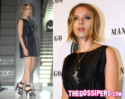 Scarlett Johansson ai Mango Fashion Awards