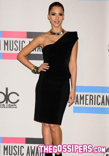 Jessica Alba agli AMAs 2010