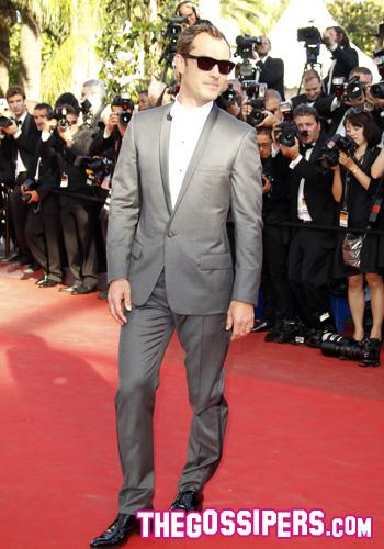 """Jude Law alla presentazione di """"Tree of Life"""""""