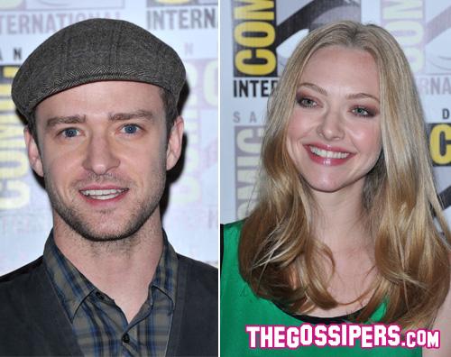 comic con amanda justin primipiani Justin Timberlake e Amanda Seyfried insieme al Comic Con