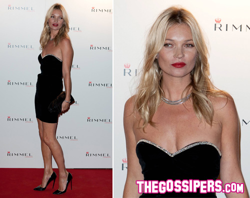 katemoss Kate Moss festeggia i 10 anni di Rimmel London
