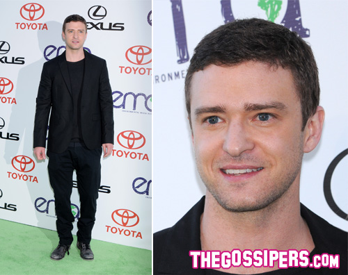 jt Justin Timberlake premiato agli Environmental Media Awards 2011