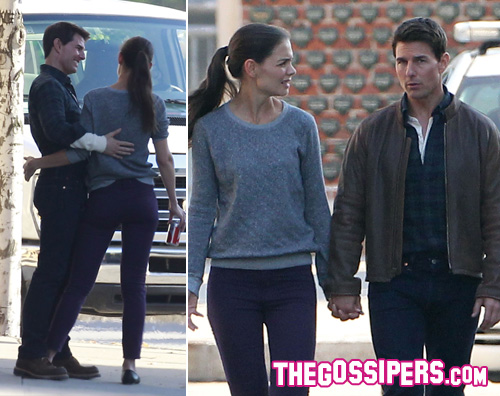 tom cruise katie holmes Tom Cruise e Katie Holmes insieme a Pittsburgh