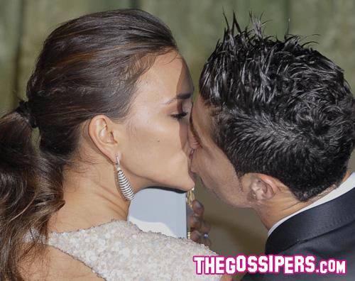 irina ronaldo bacio Cristiano Ronaldo e Irina Shayk innamorati a Madrid