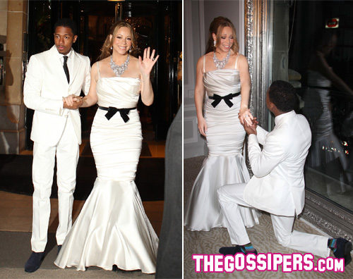 cannon nick Quarto anniversario per Mariah Carey e Nick Cannon