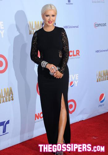 Christina Aguilera @ Alma Awards 2012