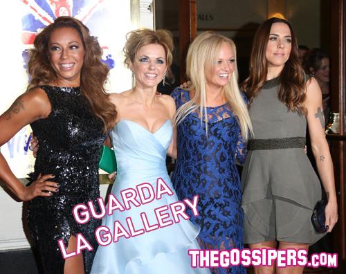 gallery spiace Reunion delle Spice Girls per la premiere di Viva Forever