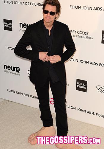 Jim Carrey Oscar 2013 Jim Carrey @ Va...