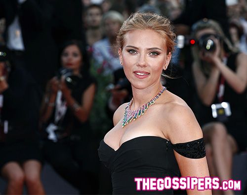 "Scarlett Johansson a Venezia per ""Under the skin"""