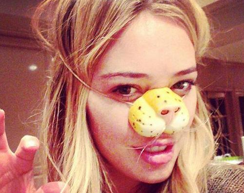 duff miao Hilary Duff festeggia Halloween in famiglia