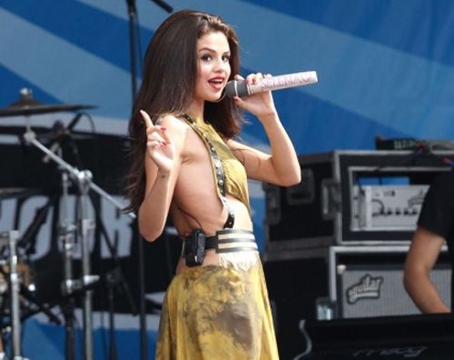 Selena Gomez a Boston