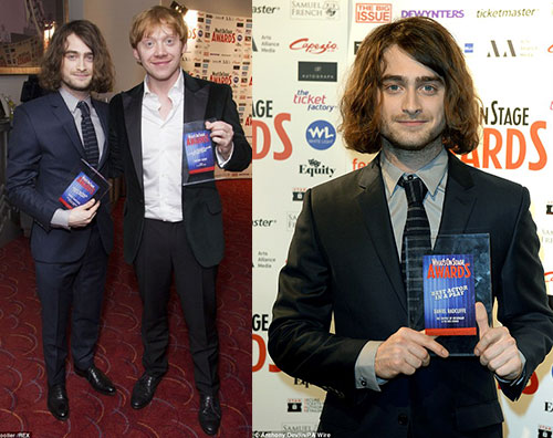 Nuovo look per Daniel Radcliffe! | Gossip Rupert Grint