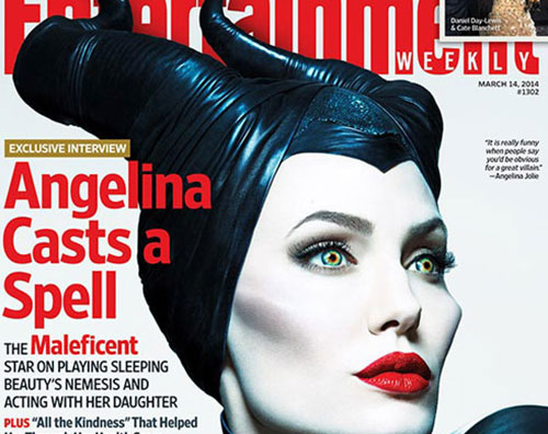 "Angelina Jolie è ""Maleficient"" - © EW Entertainment"