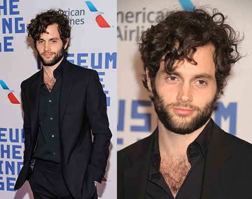 Penn Badgley selvaggio sul red carpet