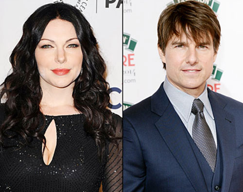 Laura Prepon nega il flirt con Tom Cruise