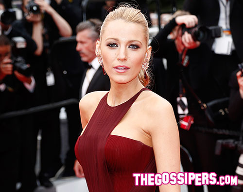 blake1 Cannes 2014: Blake Lively splendida in Gucci