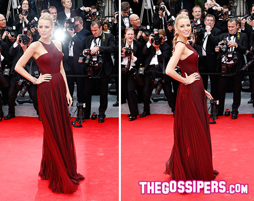 blake2 Cannes 2014: Blake Lively splendida in Gucci