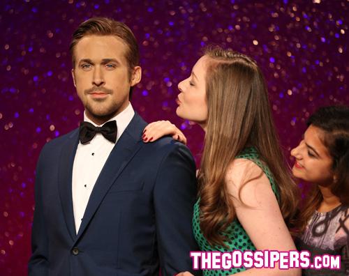 ryan.gosling Il Madame Tussauds sfoggia il suo Ryan Gosling