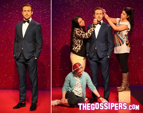 ryangosling Il Madame Tussauds sfoggia il suo Ryan Gosling