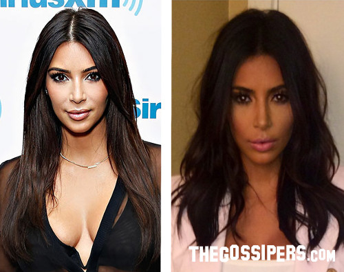 Kim Kardashian: prima e dopo