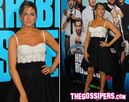 Jennifer Aniston mostra il suo lato più sexy ad Hollywood