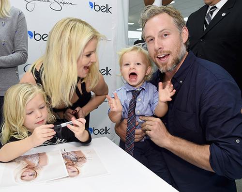 Jessica Simpson2 Jessica Simpson a Dallas con la famiglia