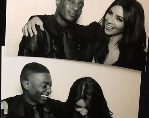 Kim6 Kim Kardashian: Ridere fa venire le rughe