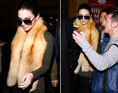 Kendall Jenner Kendall Jenner è arrivata a Milano per le sfilate