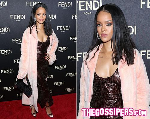 Rihanna1 Rihanna a New York per Fendi