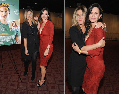 Courtney Cox e Jennifer Aniston1 Jennifer Aniston e Courtney Cox insieme per Just Before I Go