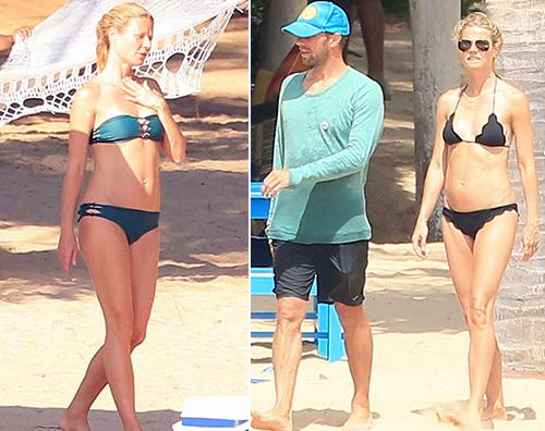 Gwyneth Paltrow e Chris Martin in vacanza insieme Vacanze insieme per Gwynet e Chris