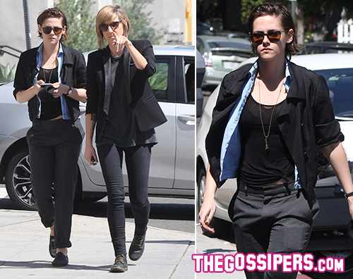 Kristen Stewart Alicia Cargile Kristen Stewart torna sul set