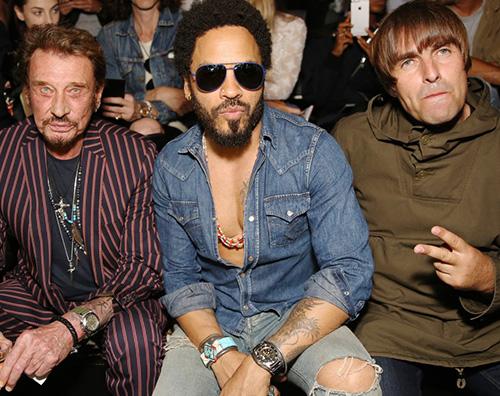Lenny Kravitz 2 Lenny Kravitz look in denim per Saint Laurent