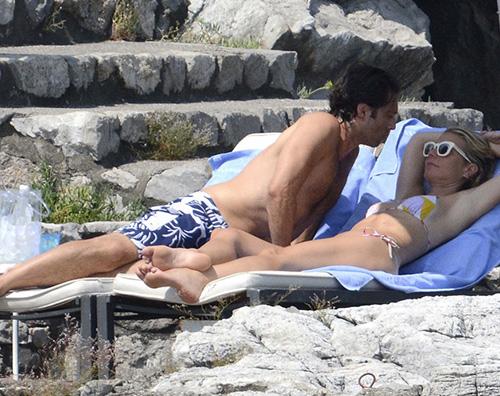 Gwyneth Brad Gwyneth Paltrow in vacanza a Portofino con Brad