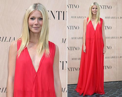 Gwyneth Paltrow Valentino Gwyneth Paltrow a Roma per Valentino