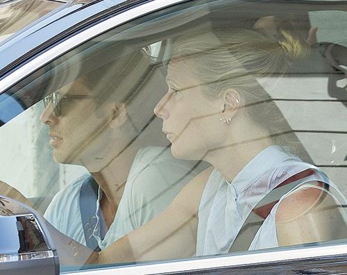 Gwyneth Gwyneth Paltrow a Roma per Valentino
