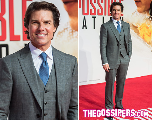 "Tom Cruise presenta ""Mission Impossible – Rogue Nation"" a Londra"