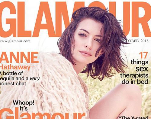Anne Hathaway 1 Anne Hathaway si racconta su Galmour UK